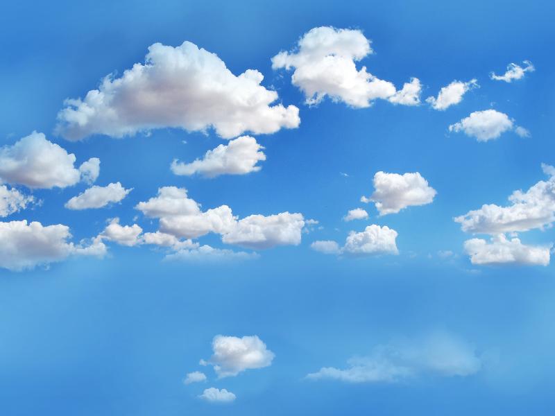 Blue Sky Overlay Seamless (Clouds.