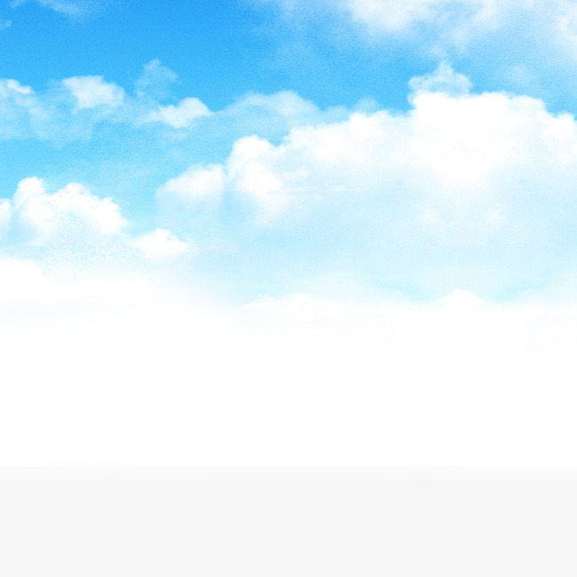 Blue Sky And Clouds, Clouds, Blue Sky, Blue PNG Transparent Clipart.