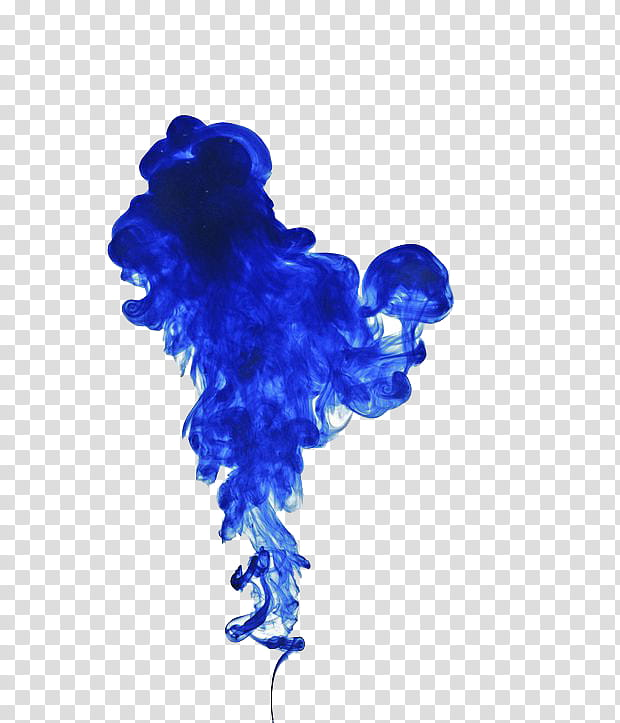 blue smoke transparent background PNG clipart.