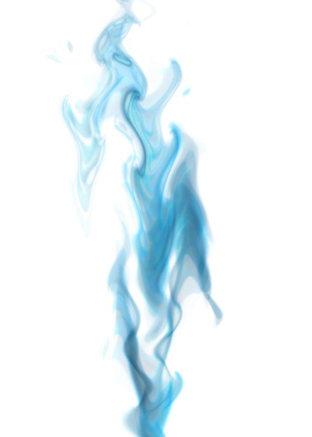 Blue smoke hd clipart.