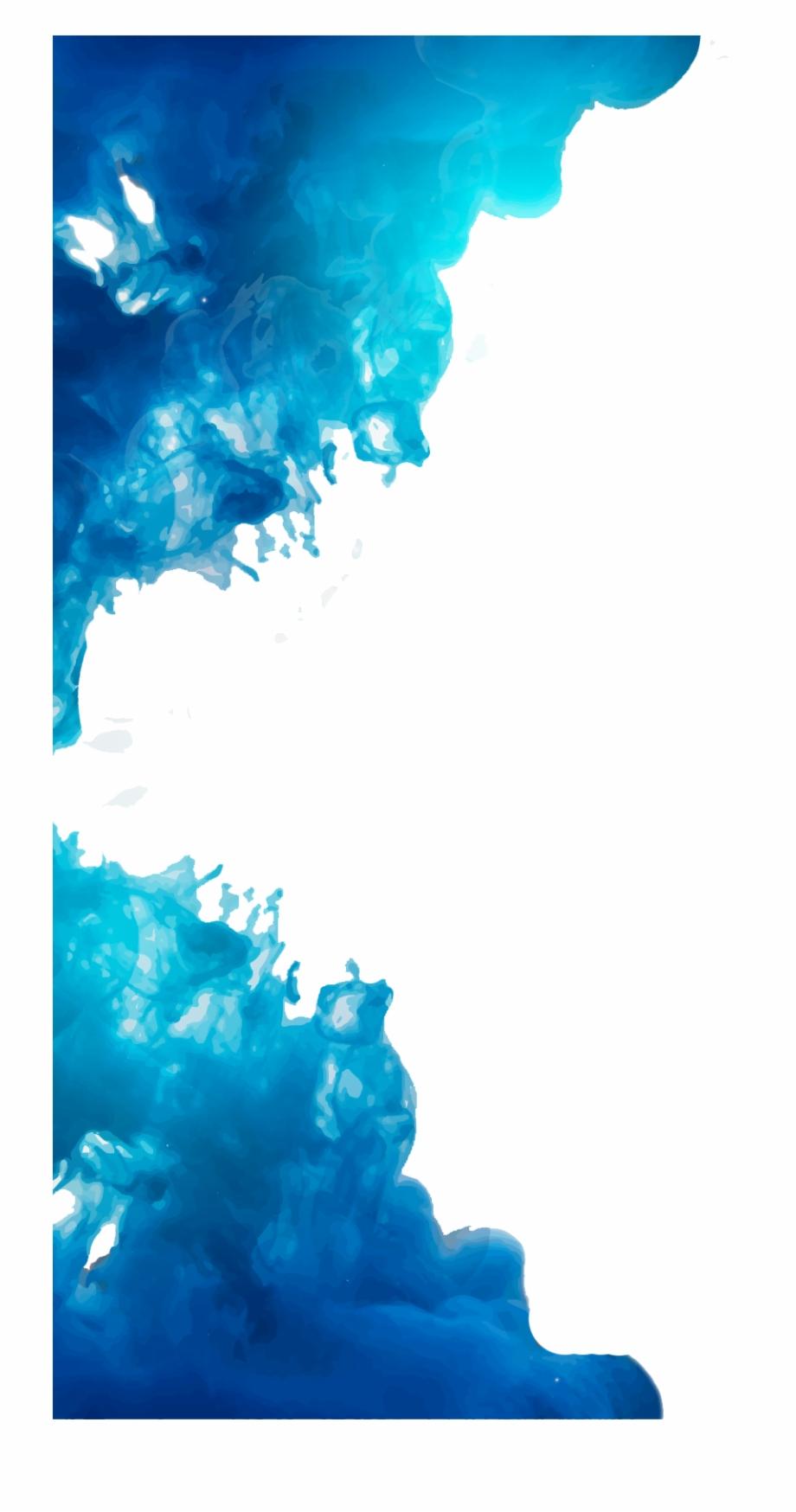 Blue Smoke Png Image Free Download.