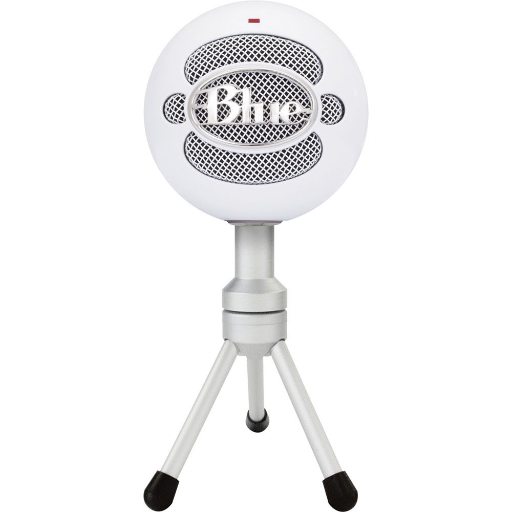 Blue Snowball iCE USB Condenser Microphone with Accessory Pack (Ice).