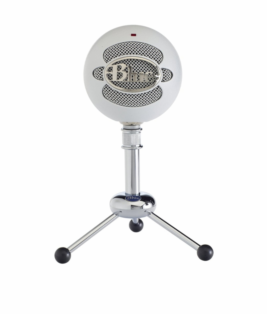 Snowball White Usb Microphone.