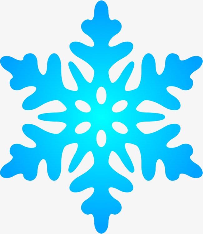 Blue snowflake clipart 2 » Clipart Portal.