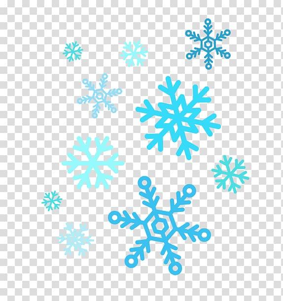 Blue snowflakes , Snowflake , Snowflakes transparent.
