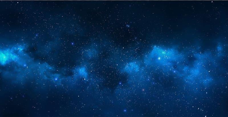 Desktop Blue Space Nebula , Space transparent background PNG.