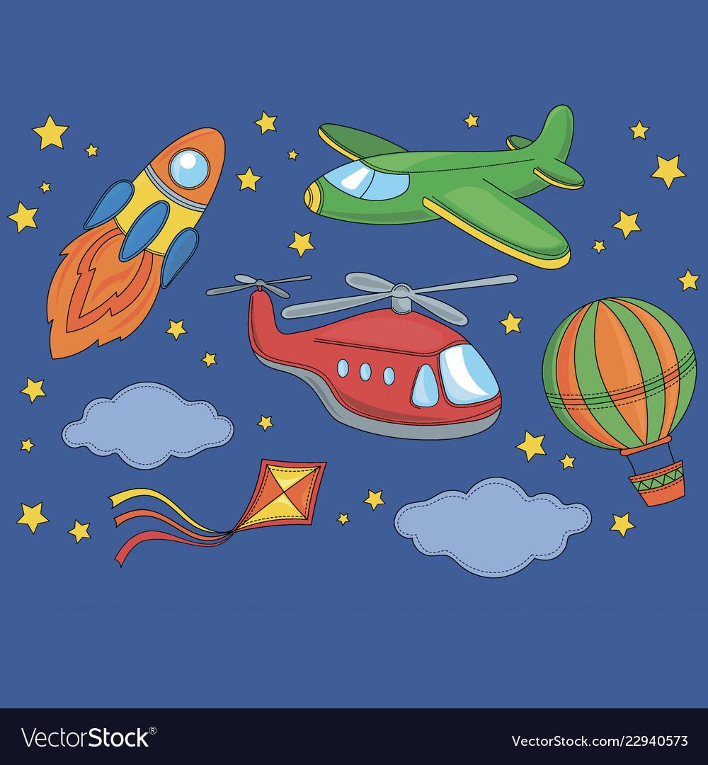 Fly cartoon space clipart.