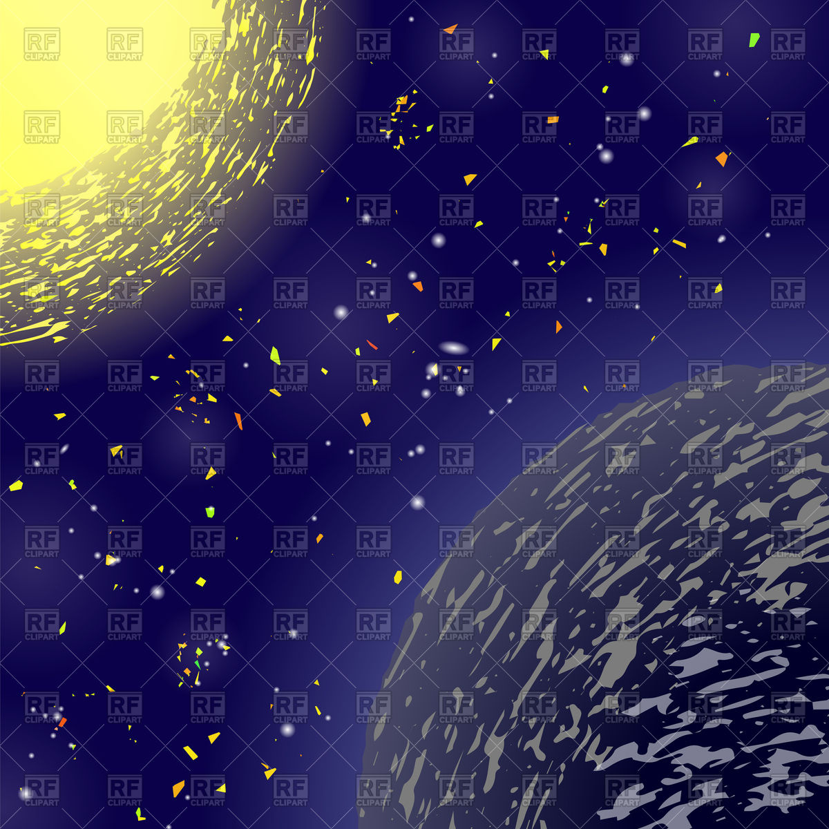 Space Clipart Background.