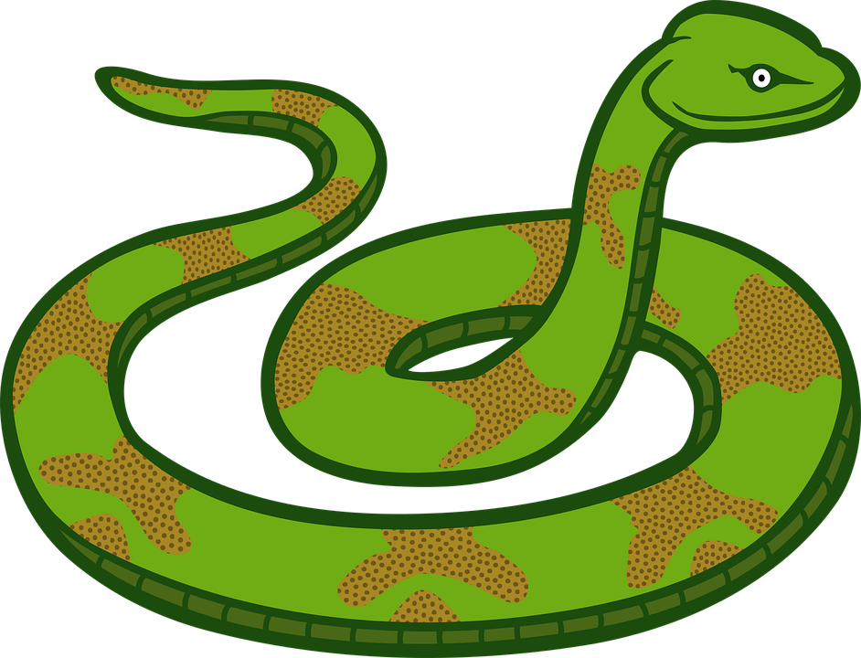 Free vector graphic: Animals, Reptiles, Snake.