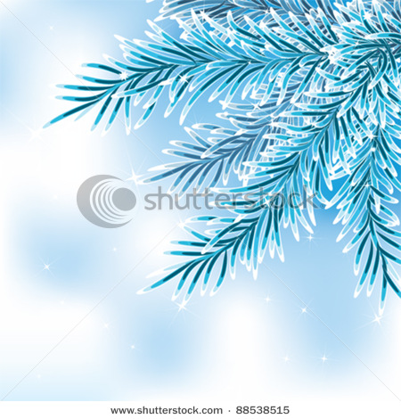 Blue_Spruce_Branch_frosted_with_snow_Vector_Clipart_Illustration_120103.