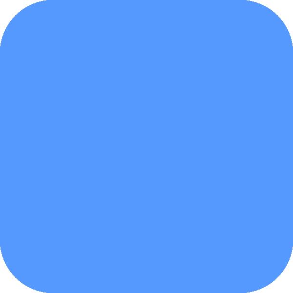 Light Blue Square PNG, SVG Clip art for Web.