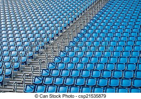 Stadium Seats Clipart.