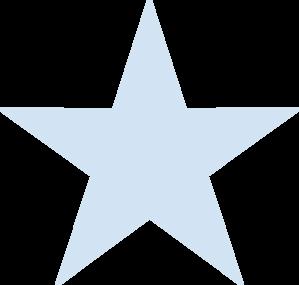 Light Blue Star Clip Art at Clker.com.