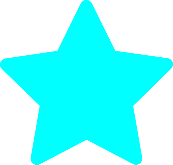 Blue stars clipart png.