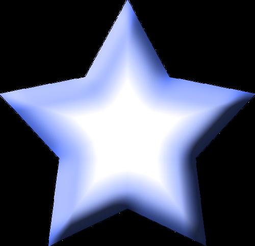 Blue Star Clipart.