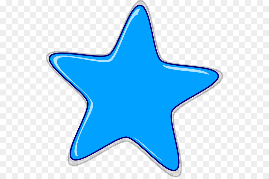 Blue Star png download.