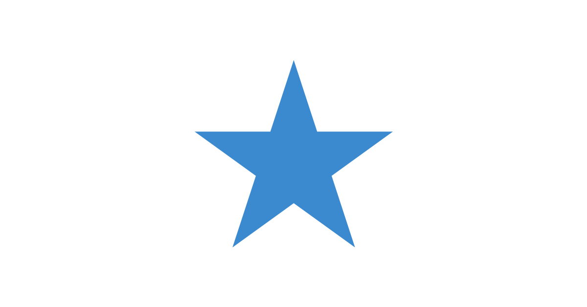 Blue Star Vector and PNG files.