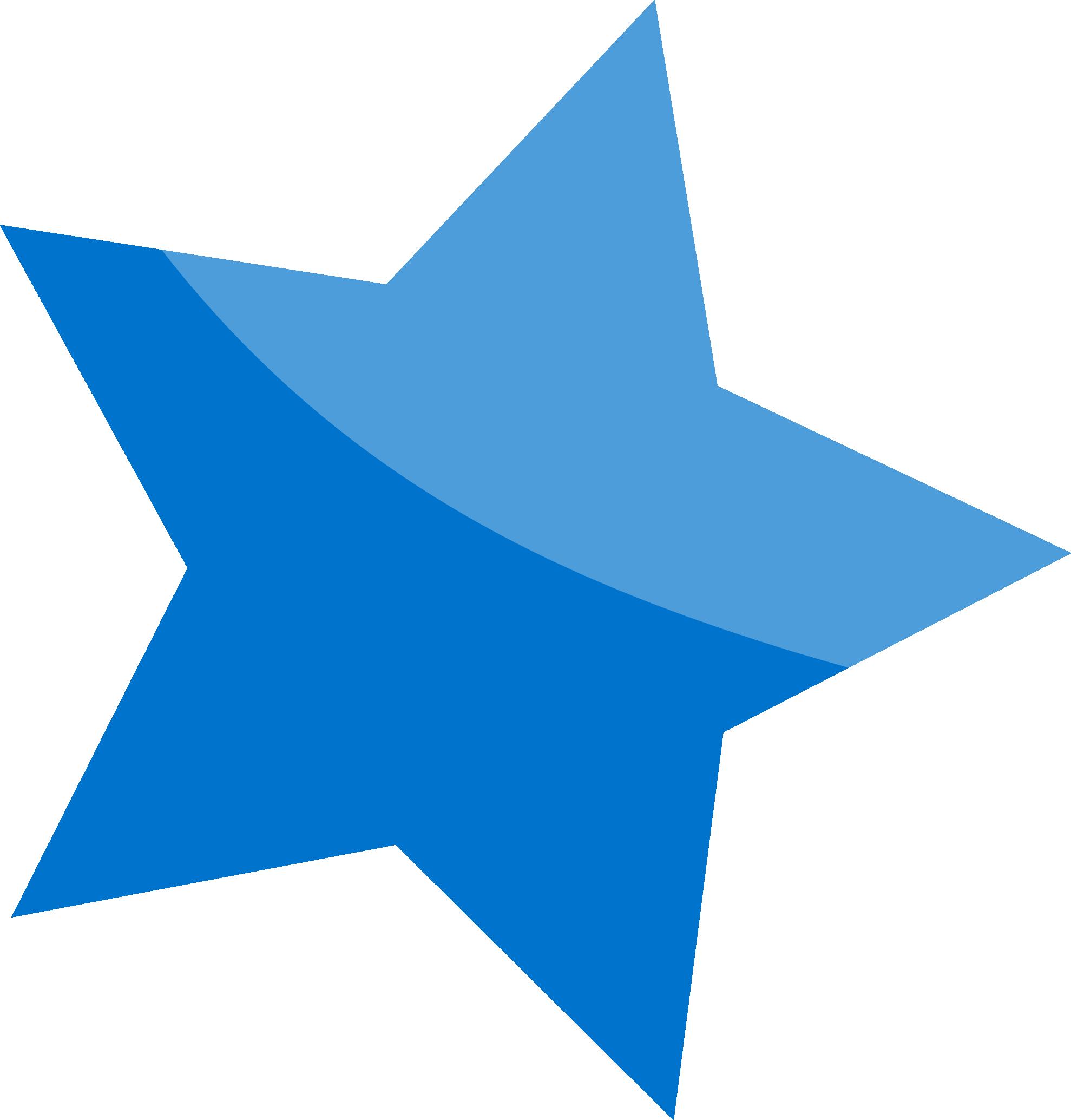 Blue Star Png Image Transparent Background Free Download.