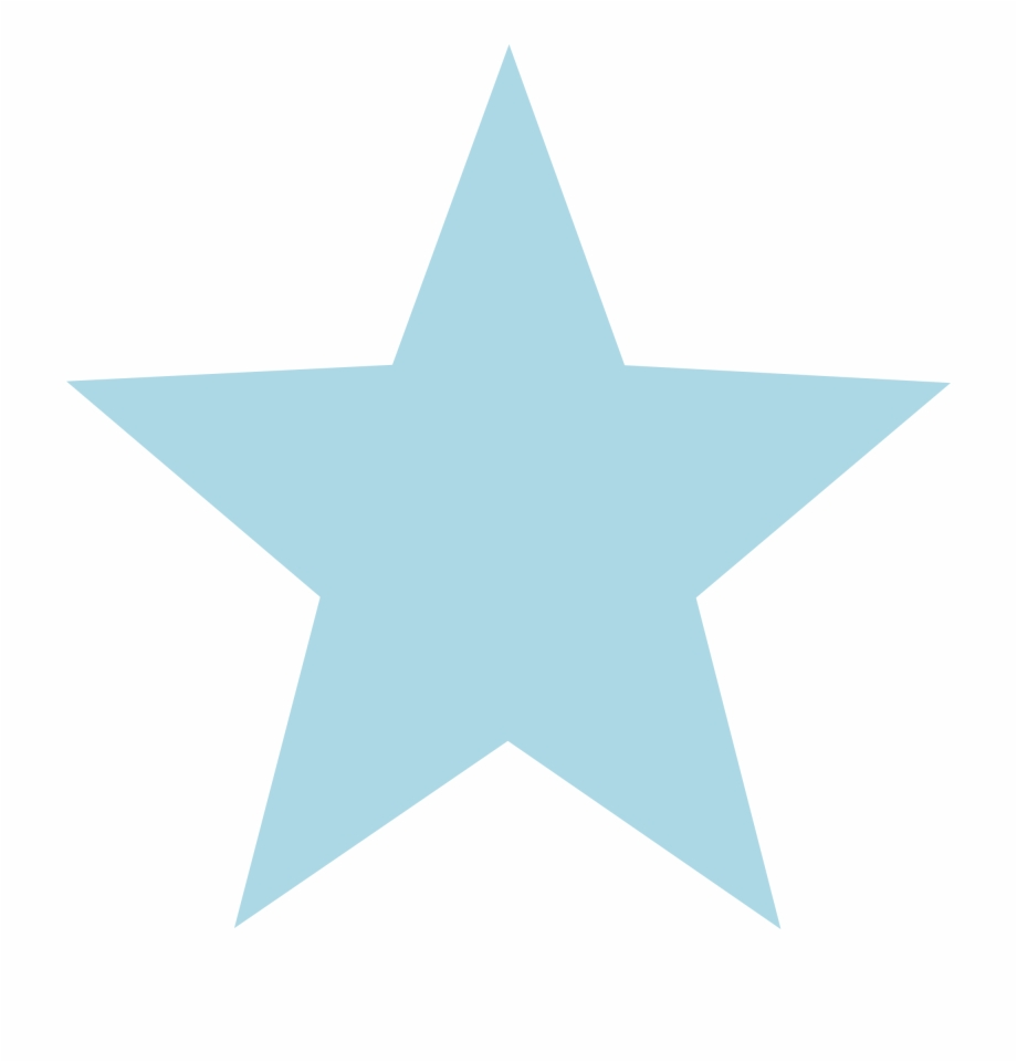 Blue Star Png.