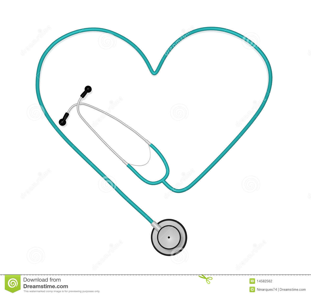blue stethoscope clipart #10