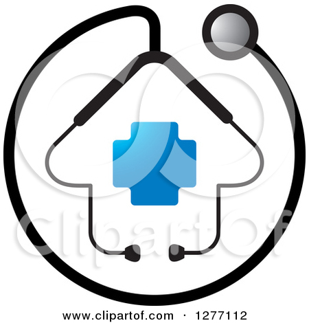 blue stethoscope clipart #8