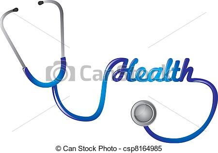 blue stethoscope clipart #17