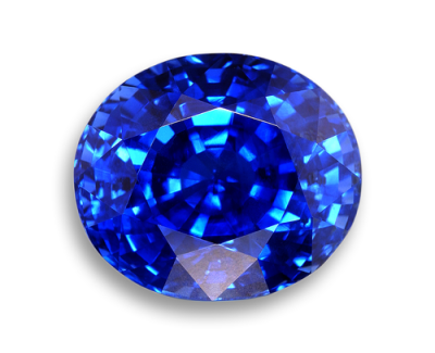 Blue Sapphire Stone PNG.