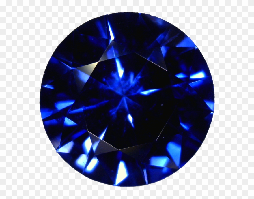 Sapphire Stone Png Pic.