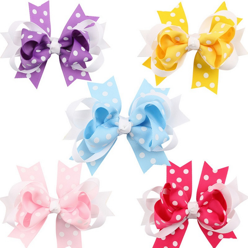 Online Buy Wholesale girls knot bow hair clips from China girls.