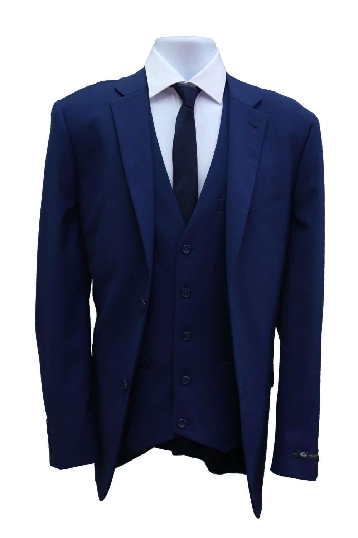 Blue Suit PNG Image Background.