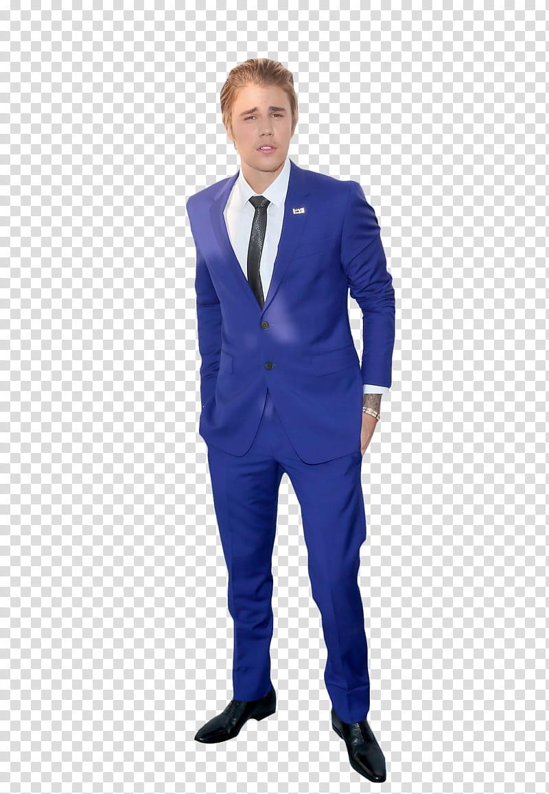 Justin Bieber , Justin Bieber in blue.