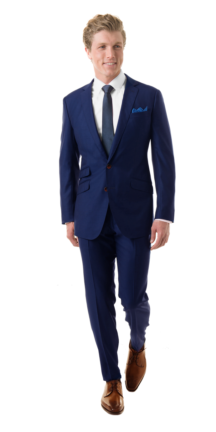 Blue Suit PNG Free Download.