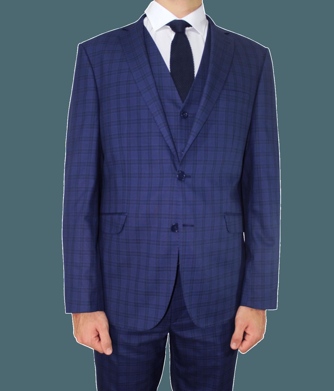 Blue Suit PNG Download Image.