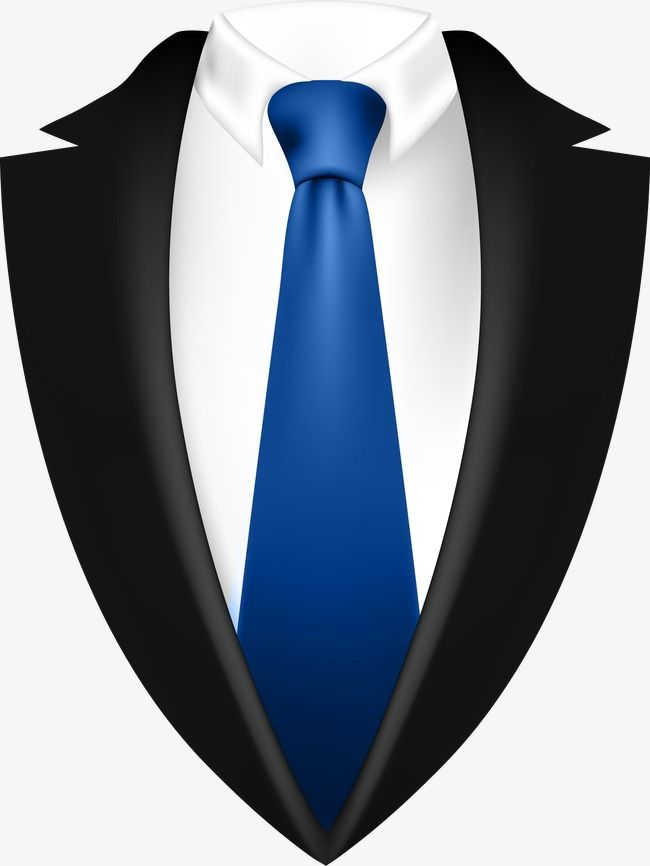 Mens Decorative Blue Tie Suit, Decoration, Vector, Men's Suits PNG.