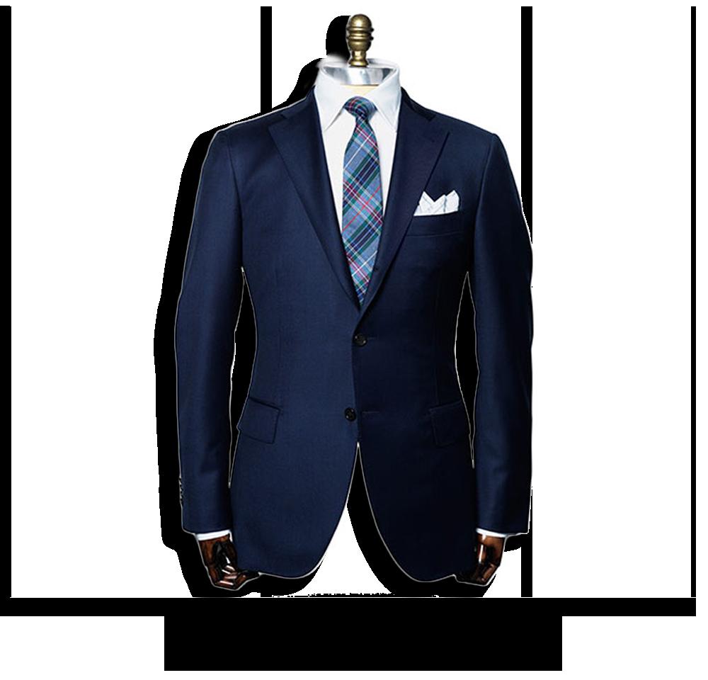 Blue Suit PNG High.