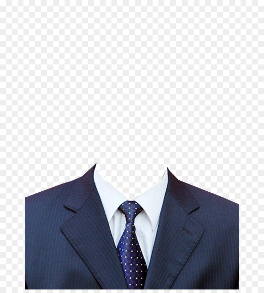 Suit Blue png download.