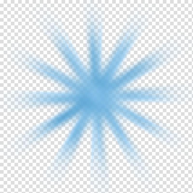 Blue ray of light illustration, Shape Sunburst Sunlight Ray.