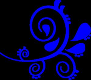 Blue Swirl Clip Art at Clker.com.