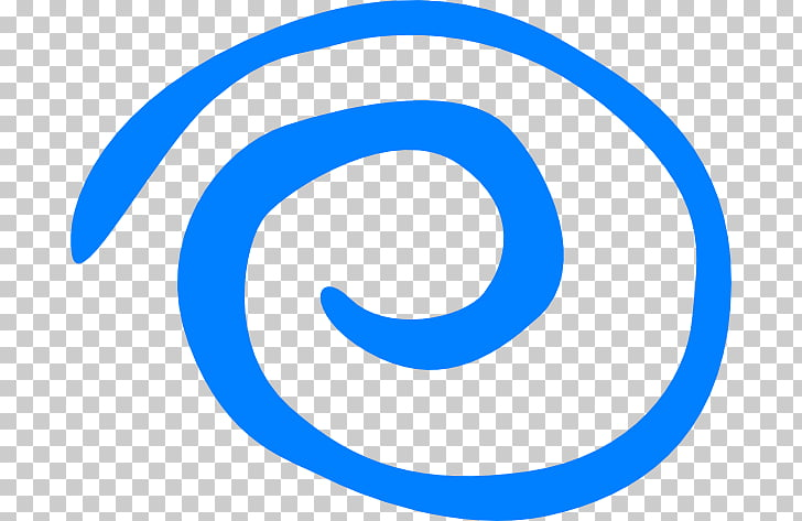 Blue , Blue swirl PNG clipart.