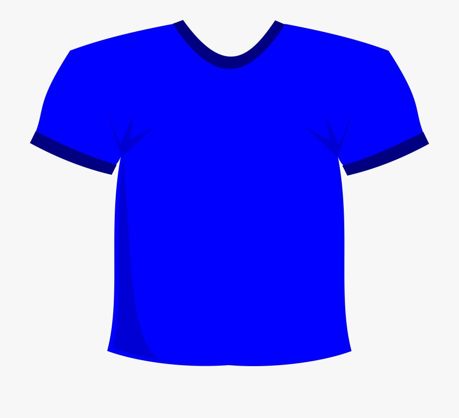 Blue T Shirt Clipart #98069.