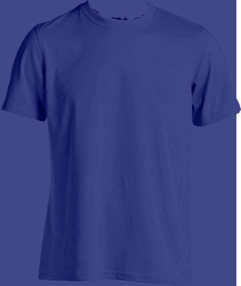 Blue T Shirt Png (+).