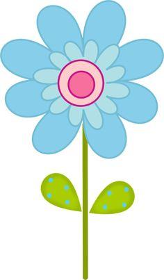 Digital Spring Flowers Clipart Clip Art Floral Scrapbooking.