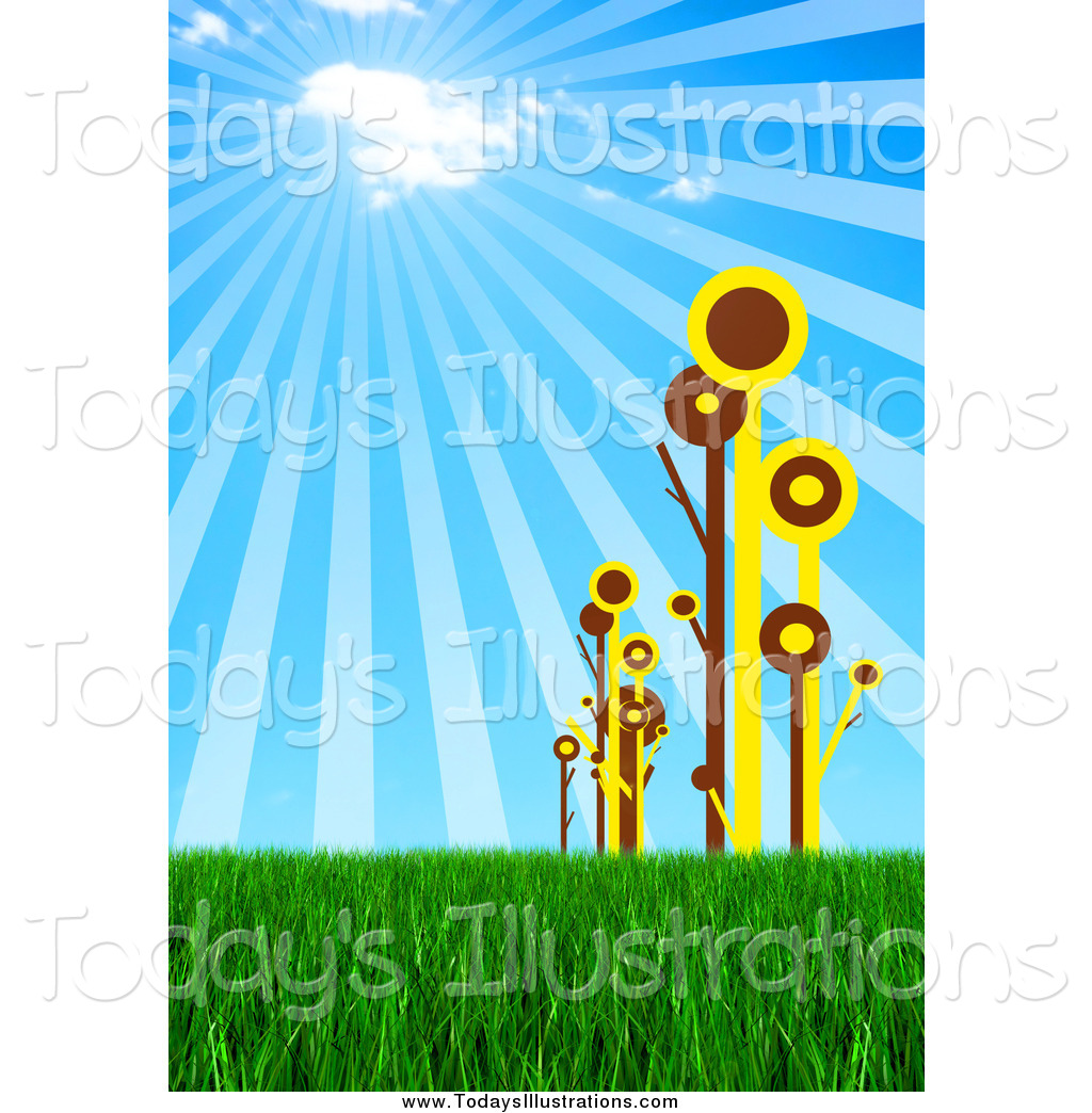 Royalty Free Stock New Designs of Plants.