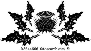 Thistle Clip Art and Illustration. 262 thistle clipart vector EPS.