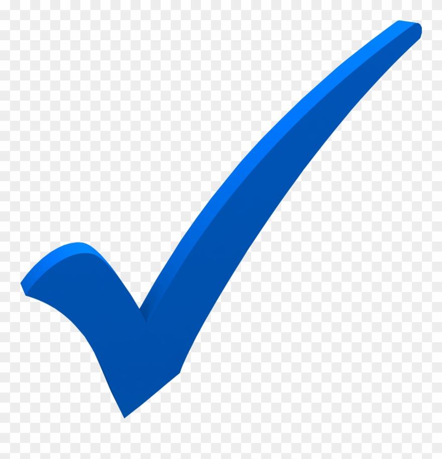 Image Stock Checkmark Clipart Blue Check.