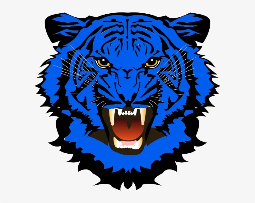 Blue Tiger Png Jpg Transparent Library.