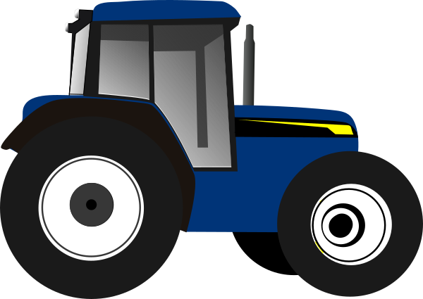 Download Free png Blue Tractor Clip Art at Clipartimage.com.