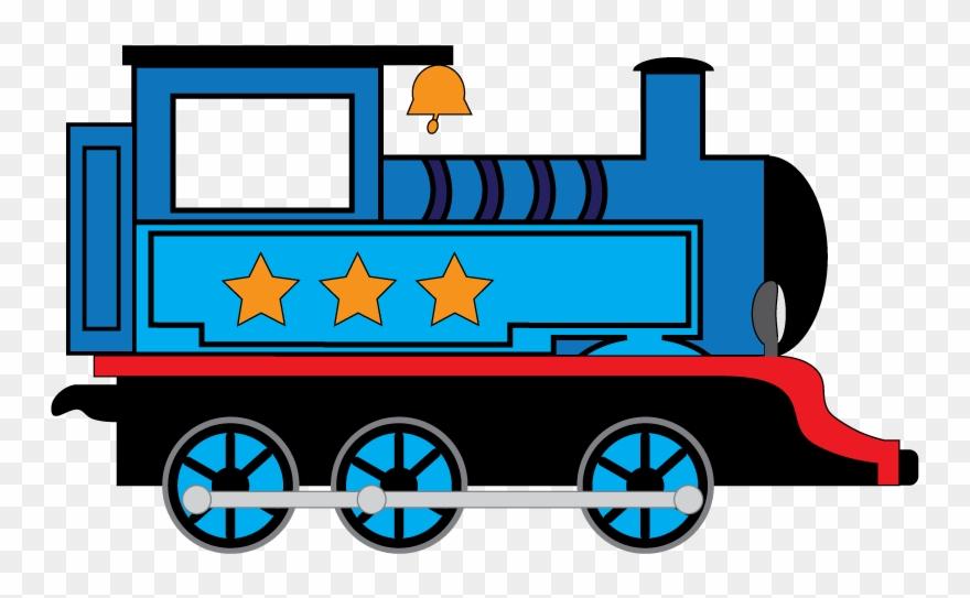 Blue Train Clip Art.