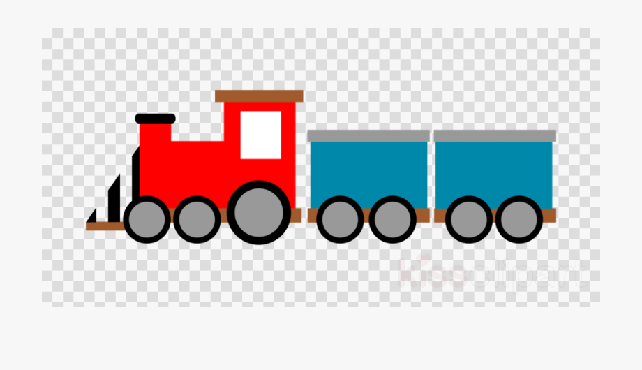 Download Red And Blue Train Clip Art Clipart Train.