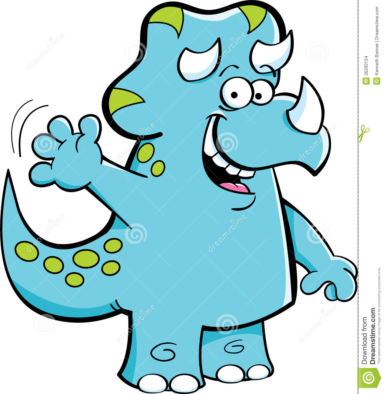 Showing post & media for Blue triceratops cartoon.